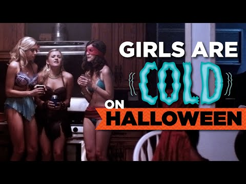 cold - It's cold as a witch's teat. Or a regular girl's teat. See more http://www.collegehumor.com LIKE us on: http://www.facebook.com/collegehumor FOLLOW us on: http://www.twitter.com/collegehumor...