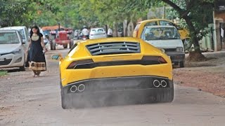 Bangalore India  city images : Lamborghinis in INDIA (Bangalore) 2015