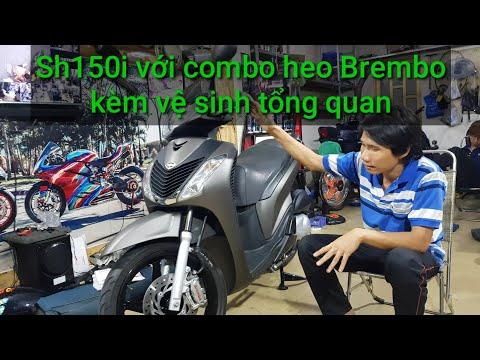 Honda Sh150i 2009. Hồi sinh sạch đẹp huyền thoại kèm với Combo Brembo Ducati.Khi có tiền là để độ ! - Thời lượng: 6 phút, 23 giây.
