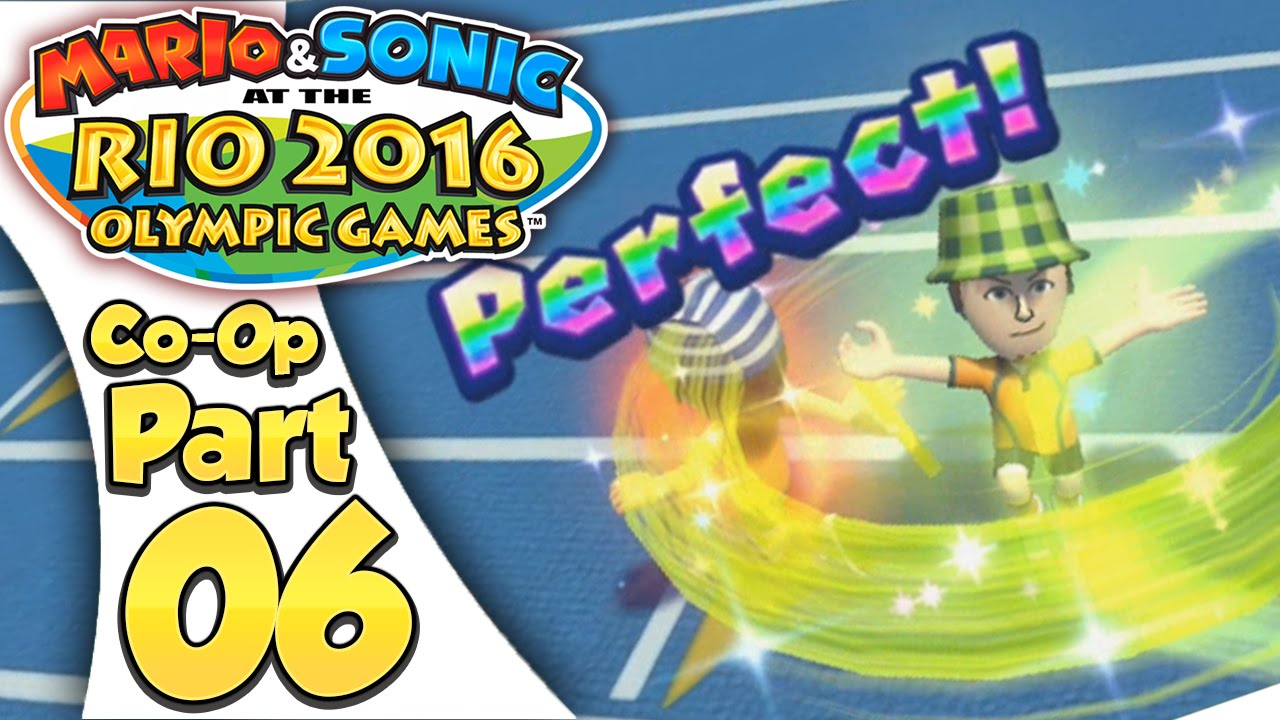 Mario & Sonic At The Rio 2016 Olympic Games – Co-Op Tournament Part 6 | 4 X 100m Relay!