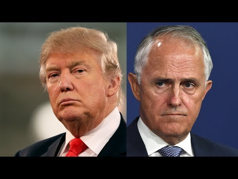 Leaked audio reveals Malcolm Turnbull roasting Donald Trump