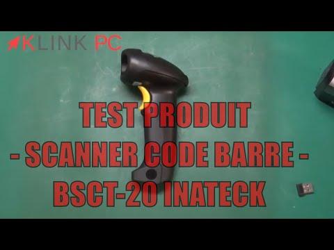 [TEST] Inateck douchette ou  Lecteur/ scanner  code barre usb sans fil