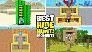 Minecraft Hide Or Hunt Best Moments (episode 1 - 13)
