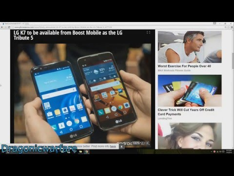New Boost Mobile Phone Lg Tribute 5 Info and Specs (HD)