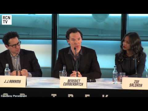 Benedict Cumberbatch - Benedict Cumberbatch Interview Star Trek Into Darkness Premiere.