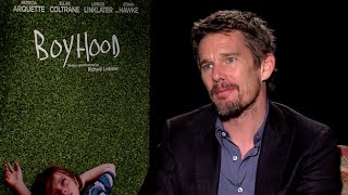 Ethan Hawke Interview   Boyhood  2014  Hd