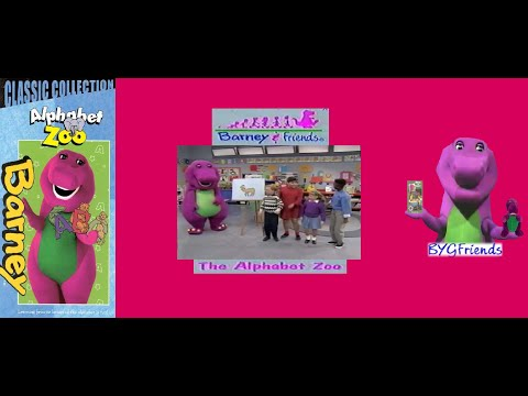 "Barney & Friends Season 2 Episode 16: The Alphabet Zoo (1999 Classic Collection ""2002 Re-print"" VHS)"