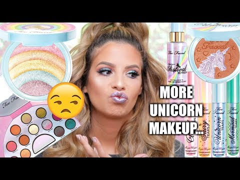NEW* TOO FACED UNICORN MAKEUP COLLECTION   HIT OR MISS..