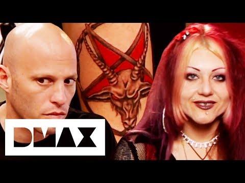 Satan Worshipper Wants Demonic Goat Head Tattoo   Miami Ink