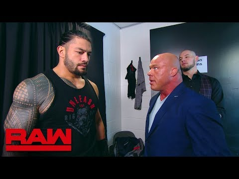 Roman Reigns Leaves The Building: Raw, July 30, 2018