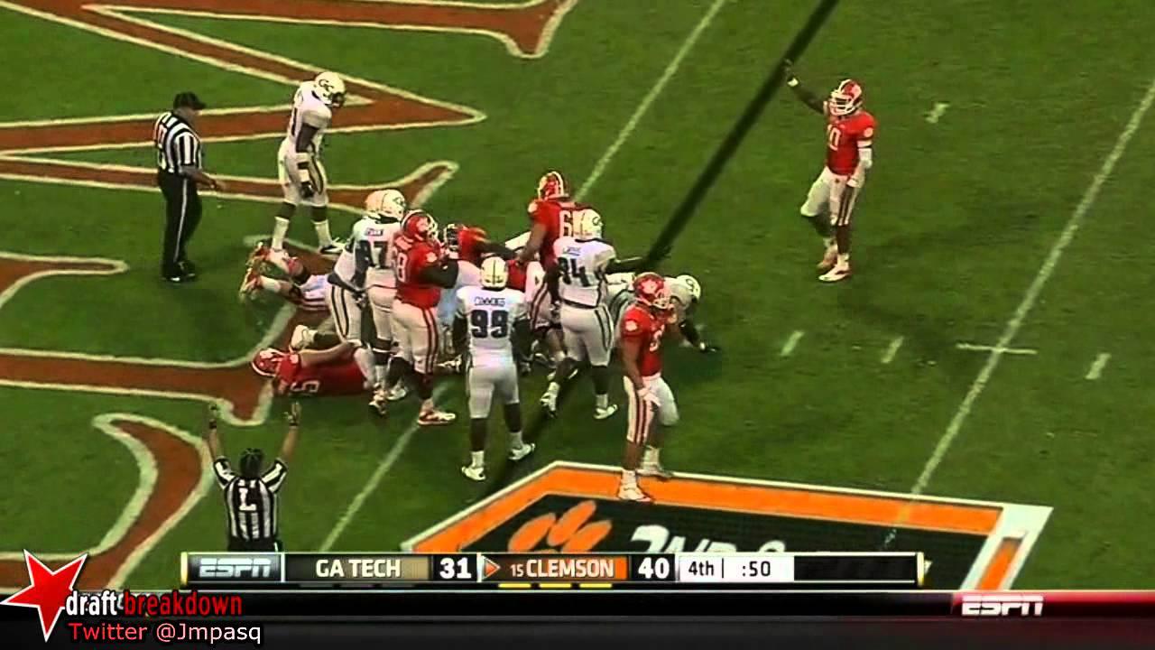 Roderick McDowell vs Georgia Tech, NC State, South Carolina (2012)