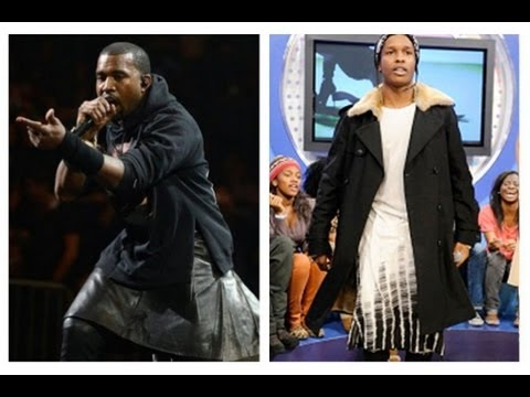 Baphomet - WHY are KANYE WEST, A.$.A.P ROCKY, VIN DIESEL, P DIDDY, and many other MALE entertainers WEARING SKIRTS??? THE TRUTH IS EXPOSED HERE! Twiiter @4runner777 Fac...