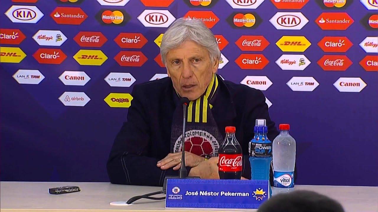 """Copa América 2015: Pekerman: """"Fizemos o nosso melhor"""""""