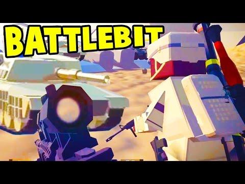 EPIC ONLINE RAVENFIELD MEETS BATTLEFIELD GAME?! Awesome Multiplayer FPS - BattleBit Beta Gameplay
