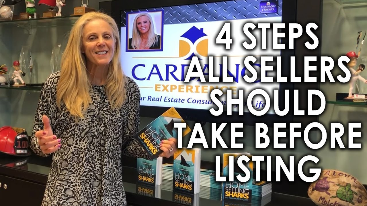Fend Off the Home Selling Sharks With These 4 Pre-Listing Steps