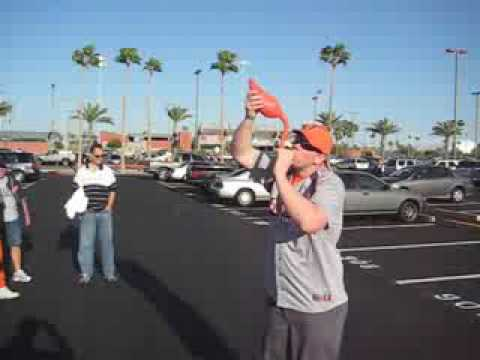 Flabongo &#8211; 2 beers while tailgating at ASU Thumbnail