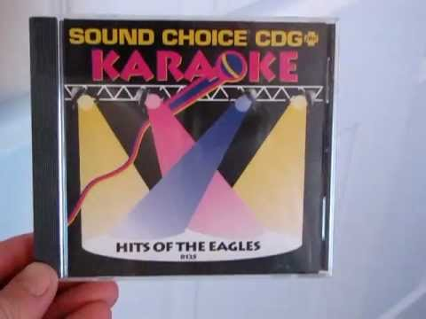 RARE Sound Choice SC8125 Hits of the Eagles CDG