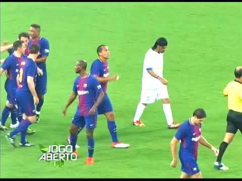 [JOGO ABERTO PE] Barcelona Legends vence amistoso em Pernambuco