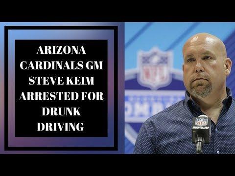 Arizona Cardinals GM Steve Keim Arrested For Drunk Driving