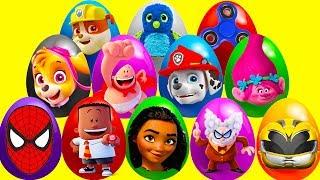 Video 20 Mega Surprise Captain Underpants Eggs with Disney Moana and Paw Patrol Pups Pt 1 MP3, 3GP, MP4, WEBM, AVI, FLV Juni 2017