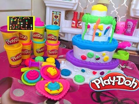 Праздничные торты из play do