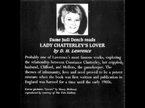 Judi Dench Reads D  H  Lawrence   Lady Chatterley's Lover   Part 3