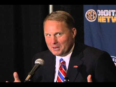 0 Ole Miss Head Coach Hugh Freeze at 2012 SEC Media Days