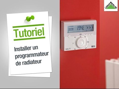 comment poser thermostat radiateur