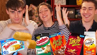 Video British People Try Twinkies for the First Time!! MP3, 3GP, MP4, WEBM, AVI, FLV Agustus 2019