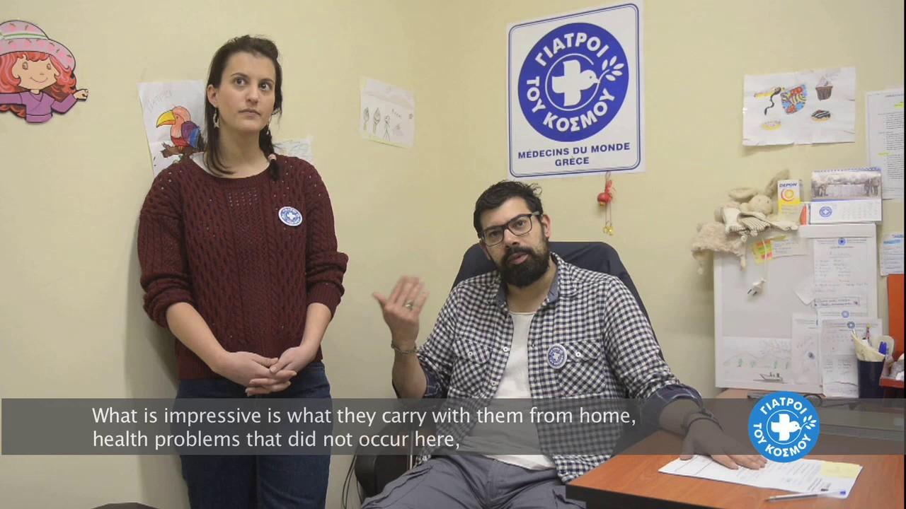 Γιατροί του Κόσμου, Πολυιατρείο για υποψήφιους μεταγκατάστασης κι ευάλωτους αιτούντες άσυλο