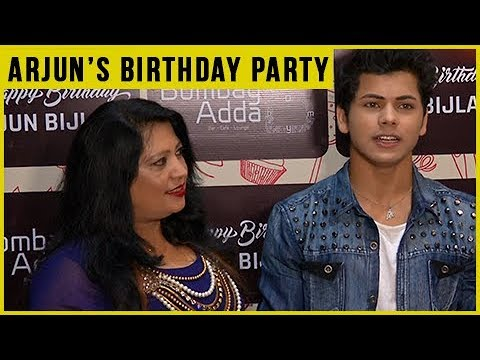 Siddharth Nigam Attends Arjun Bijlani's Birthday B