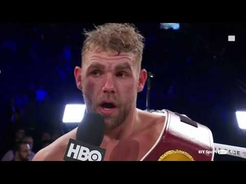 Billy Joe Saunders schools David Lemieux and then calls out Gennady \