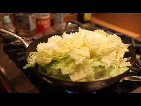 Stir Fry Rice Cake Ninpo Style HD Canon 5D Mark II