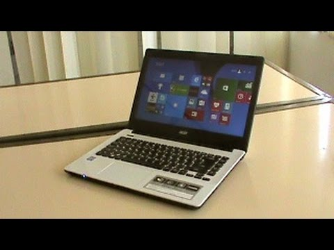 Acer E5-411 Intel Celeron Notebook - Unboxing