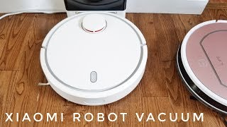 The full review of the Xiaomi Smart Robotic Vacuum.Find this at Gearbest: http://bit.ly/2vvtjyJ -                       Amazon: http://geni.us/t9sLLDh -                   Aliexpress: http://ali.ski/qs3LmF - Replacement filters and brushes: http://ali.ski/fVvfA Xiaomi Mi Robot Vacuum is a new Vacuum from Xiaomi hoping to make your home smarter. The Xiaomi Mi Vacuum competes against industry giants like iRobot Roomba, Dyson 360 Eye, Neato, Miele etc and does an amazing job for less than half the price.