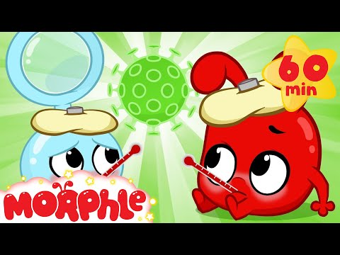 The Magic Pet Flu - Morphle's Sick   My Magic Pet Morphle   Cartoons for Kids   Morphle TV