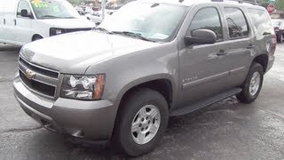 2008 CHEVROLET TAHOE LS Walk Around Tour And Review