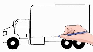 Easy step by step tutorial on how to draw a delivery truck, pause the video at every step to follow the steps carefully. Enjoy ;)- Facebook: https://www.facebook.com/HowtoDrawSimply
