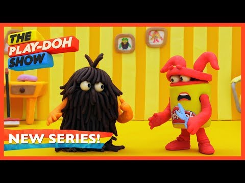 Play doh - 'Barbershop Buzz'  Stop Motion Ep. 11  The Play-Doh Show