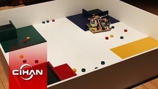 Robotlar ODTÜ'de kıyasıya yarıştı