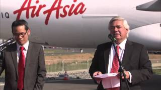 Video ILA Berlin 2012 - AirAsia will be the first airline to operate A320 with Sharklets MP3, 3GP, MP4, WEBM, AVI, FLV Agustus 2018