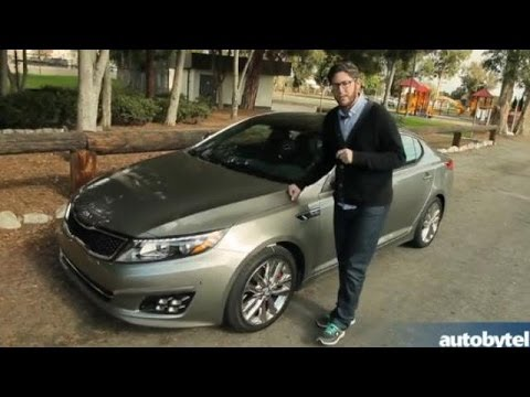 2014 Kia Optima Turbo Test Drive Video Review