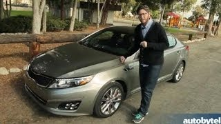 2014 Kia Optima Turbo Test Drive Video Review