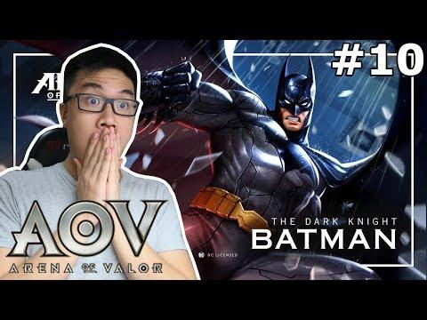 ADA BATMAN DI MOBA?! KEREN COY! - Arena of Valor (Indonesia)