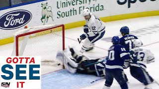 GOTTA SEE IT: Vasilevskiy Makes Unbelievable Stop With Skate For Save Of The Year by Sportsnet Canada