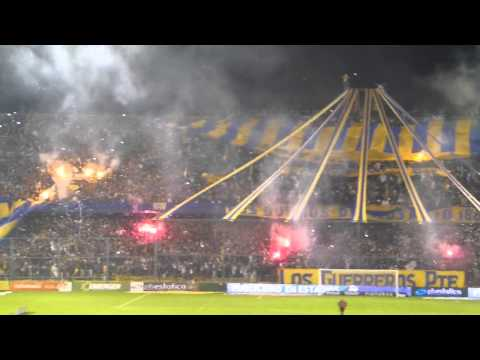 Video - Recibimiento Rosario Central vs Quilmes 04/08/13 - Los Guerreros - Rosario Central - Argentina