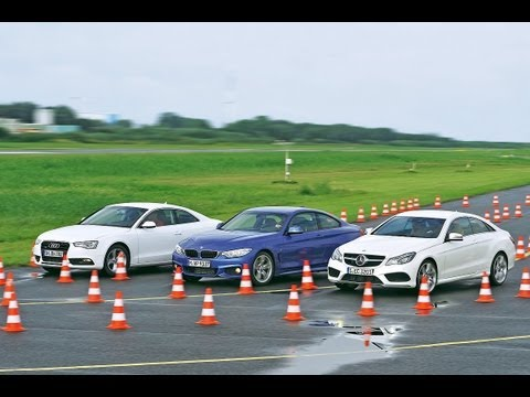 Audi A5 vs. BMW 428i vs. Mercedes E 250 Coupé