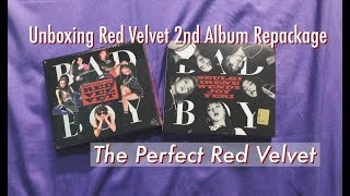 Unboxing Red Velvet 2nd Album Repackage - The Perfect Red Velvet