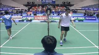 *Due to technical problems from the live streaming, this video is devoid of English commentary. Event: 2012 Yonex Open Japan - Quarter Finals Date: 18 Septem...
