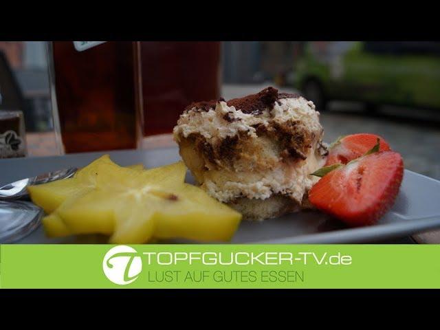 Edles Tiramisu mit Dresdner Kaffeelikör   Dessert Rezept Topfgucker-TV